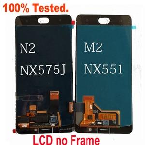 "Image 3 - Best Original Working LCD Display Touch Screen Digitizer Assembly Sensor + Frame For 5.5"" ZTE Nubia N2 NX575J MT6750 / M2 NX551J"