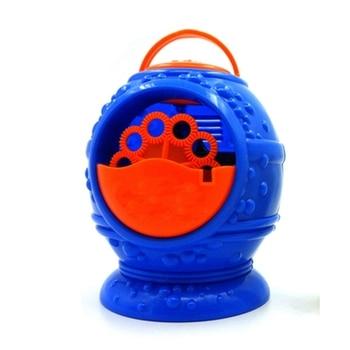 Blow Toy Children Soap Electric Automatic Water Blowing Maker Machine Kids Boy Girl Beach Outdoor Bubble Gun Plastic 2020