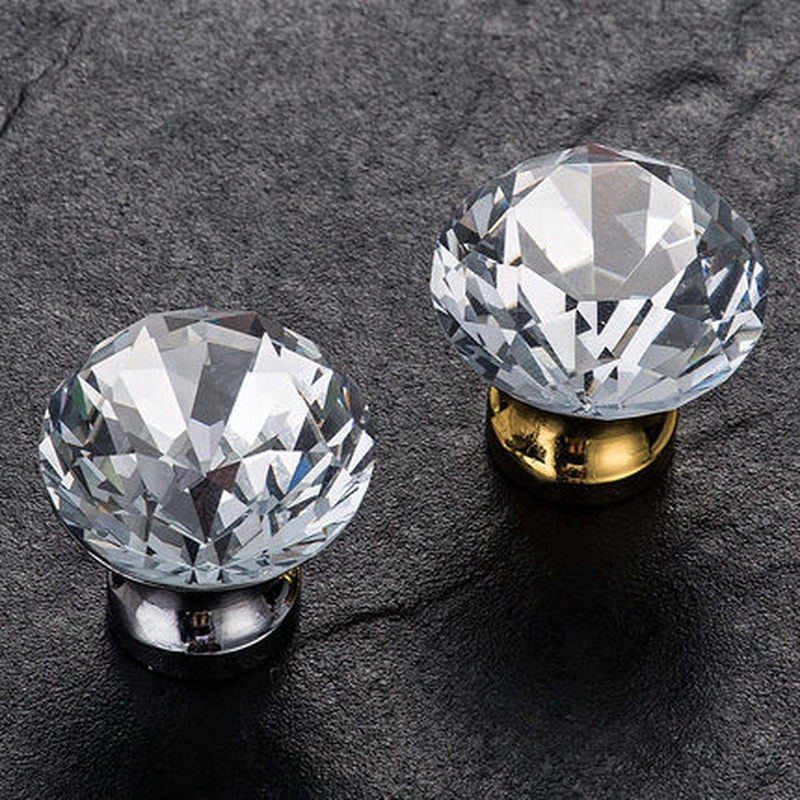 Cabinet Knobs And Handles Crystal Glass Knob Door Shoe