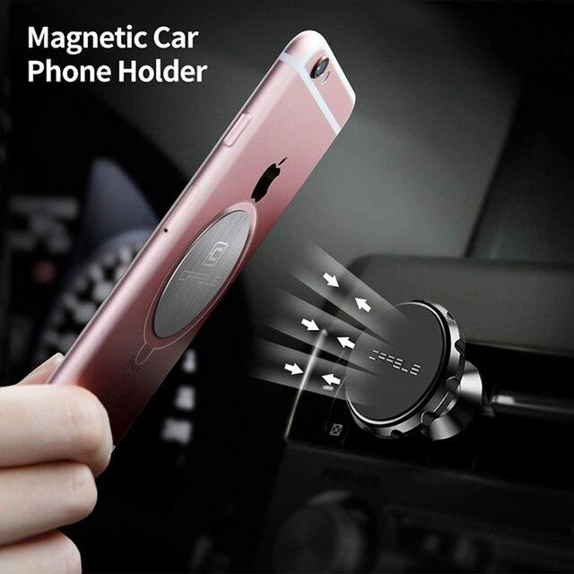 Cafele Car Phone Holder Magnetic Air Vent Magnet Mobile Phone Car Holder For Cell Phone Car Mount Holder Universal 5