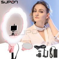 SUPON Selfie Ring Light SL 107 Led Panel Camera Studio Phone Video 3200K 5500K LED Lamp