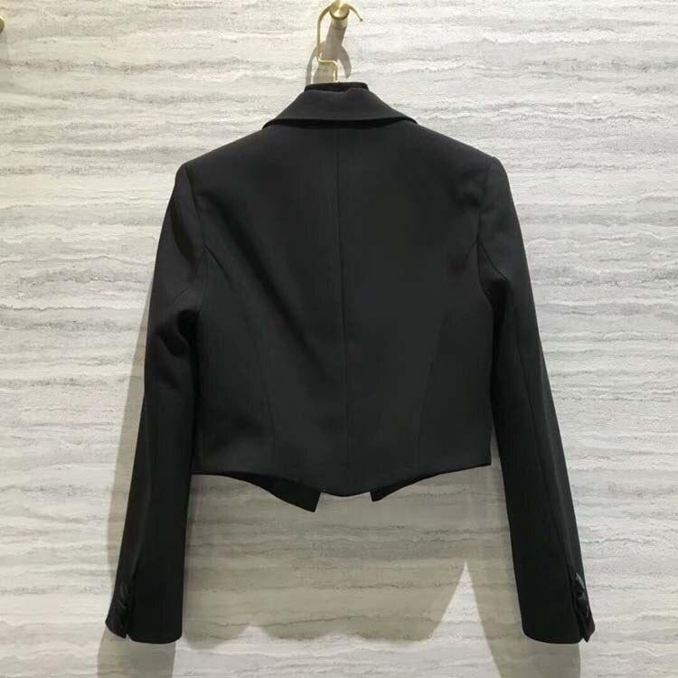 2018 Mode Femmes At180816 Manteaux Blazers Slim Z0dWdBv5