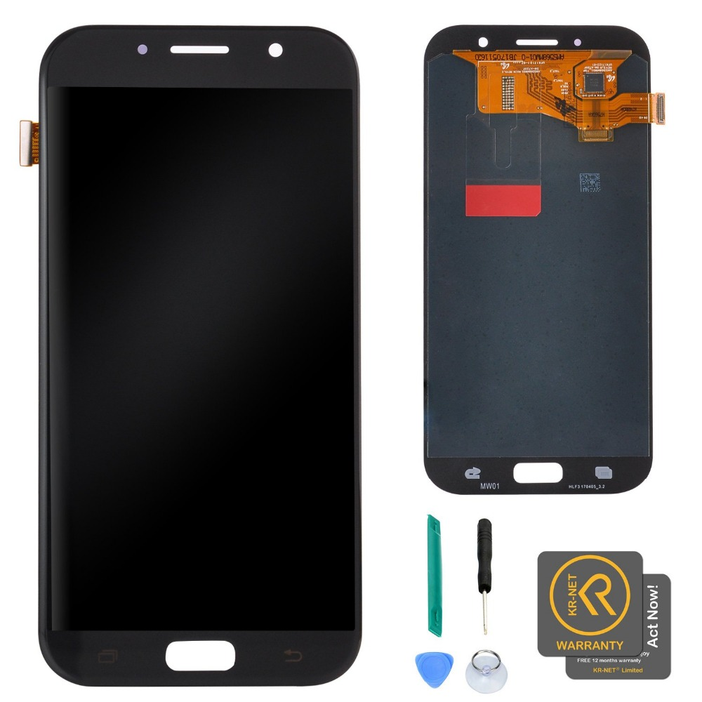 For Samsung Galaxy A7 2017 A720 Lcd Mobile Phone Display Touch Capacitive Screen Digitizer Assembly Replacement PartsFor Samsung Galaxy A7 2017 A720 Lcd Mobile Phone Display Touch Capacitive Screen Digitizer Assembly Replacement Parts