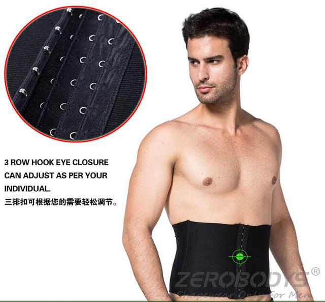 Plus size venda Quente Shapers Espartilhos Cintura para Homens Emagrecimento Cueca cinturão Tummy Trimmer Perder peso Cinto de Emagrecimento
