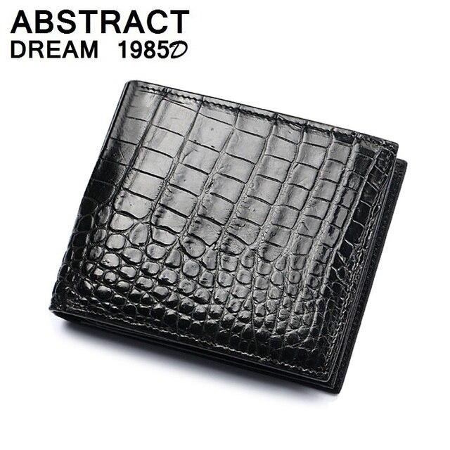 2019 men wallet 100% men real Alligator skin fashion Black Short luxury wallets real leather wallet Classic men's casual purse
