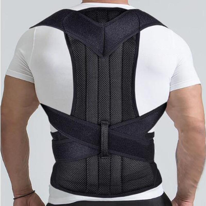 Back Shoulder Support Posture Corrector Belt Men Women Corset Back Medical Belt Lumbar Posture Corrector Brace Back Support