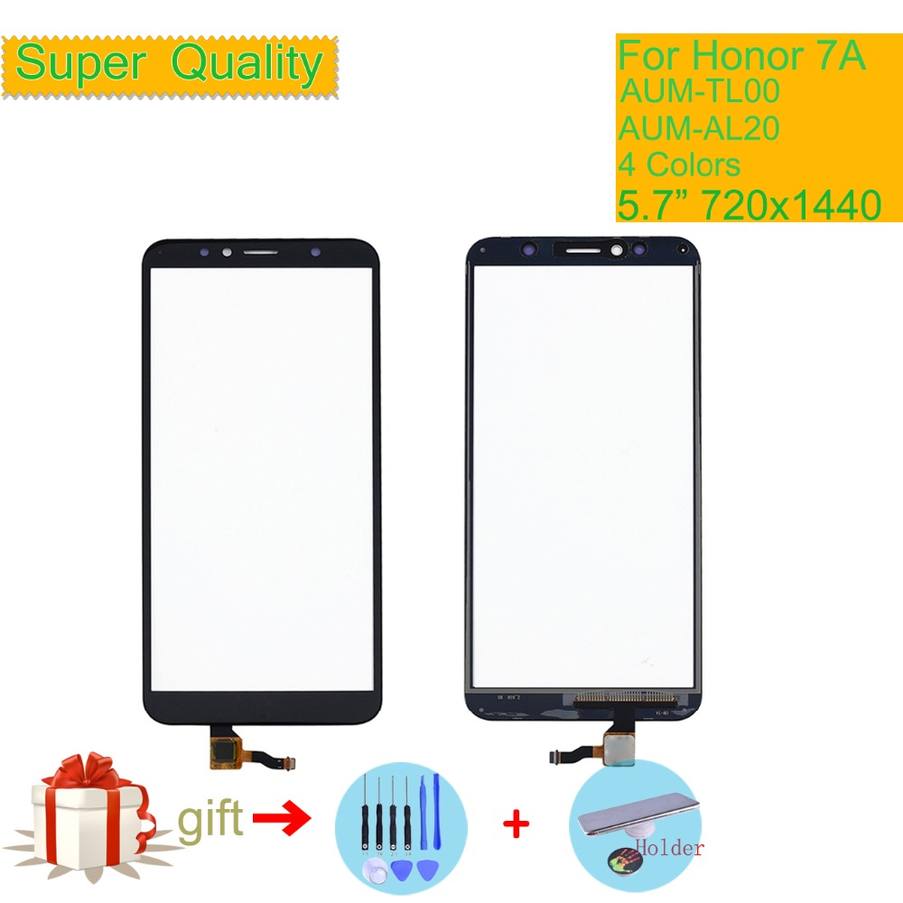 For Huawei Honor 7A AUM-TL00 AUM-AL20 Touch Screen Touch Panel Sensor Digitizer Front Glass Touchscreen NO LCD Replacement 5.7