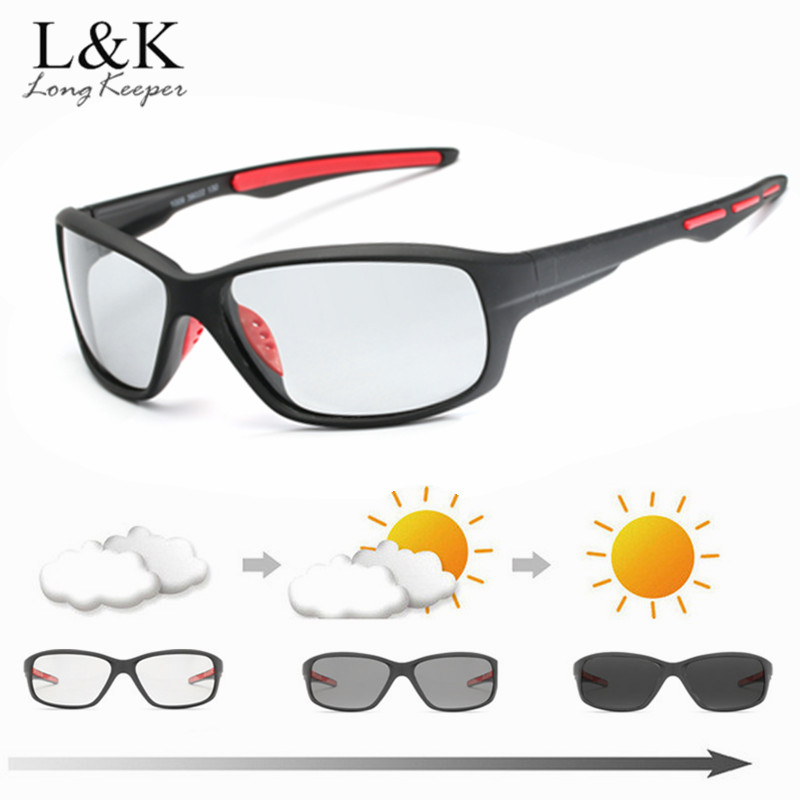 Photochromic Sunglasses with Polorized Lens