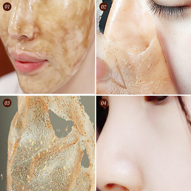 Honey tearing mask Peel Mask oil control Blackhead Remover Peel Off Dead Skin Clean Pores Shrink Facial care face Skincare mask