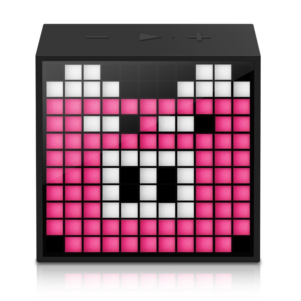 Prix pour Portable bluetooth haut-parleur divoom timebox mini avec le sommeil-l'aide smart réveil avec app programmable pixel led