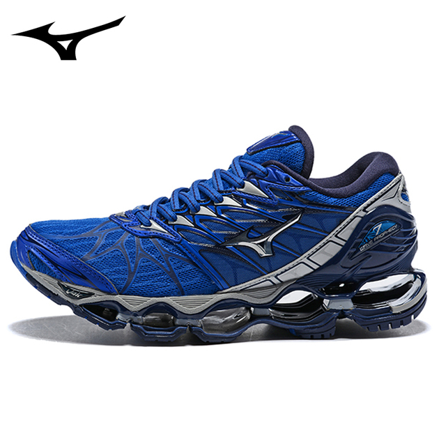 9331bee7fe2 Official Mizuno Wave Prophecy 7 Professional Men Shoes Sport Shoes Sneakers  Weightlifting Shoes original Shoes Size 40-45