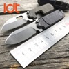 LDT Mini Bean Folding Blade Knives S35VN Blade Titanium Handle Camping EDC Tools Utility Outdoor Hunting