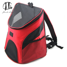 Double Shoulder Pet Bag  Invisible Breathable Mesh Material Dog /Cat Pet Travel Bag Carrying Bag Wholesale Multi-color Optional