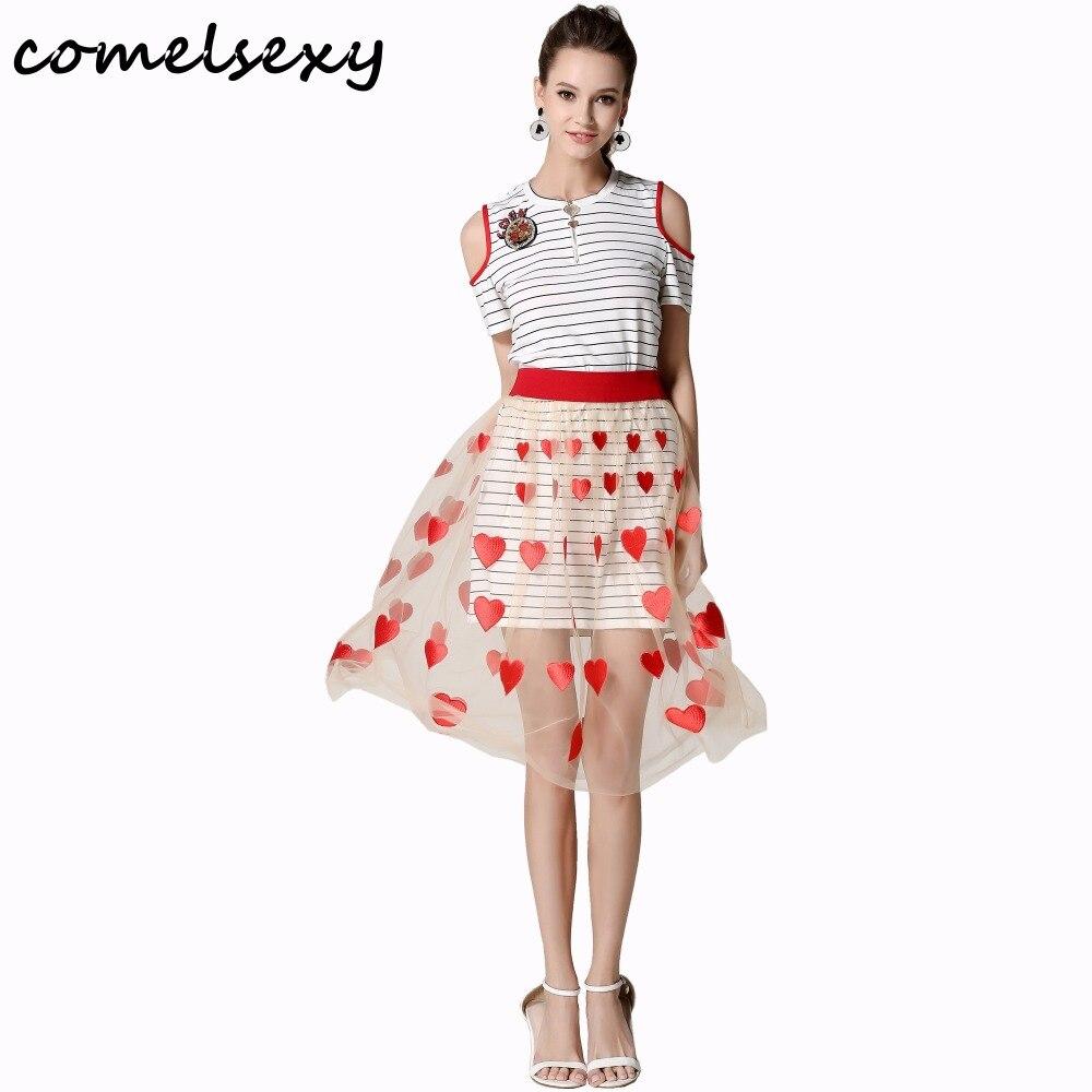 Платье из сетки с рисунком