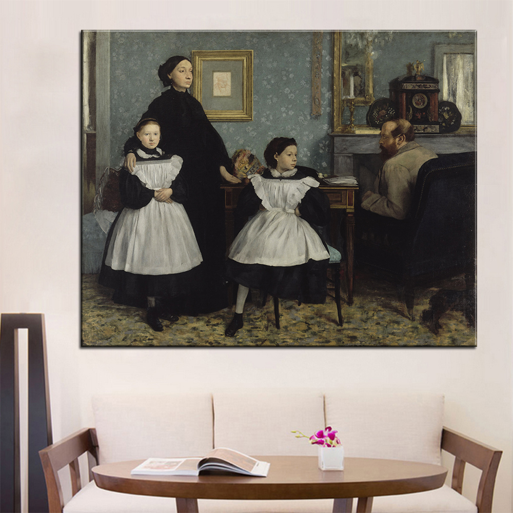 DP ARTISAN The Bellelli Family Wall Painting Print On Canvas For Home Decor  Oil Painting Arts