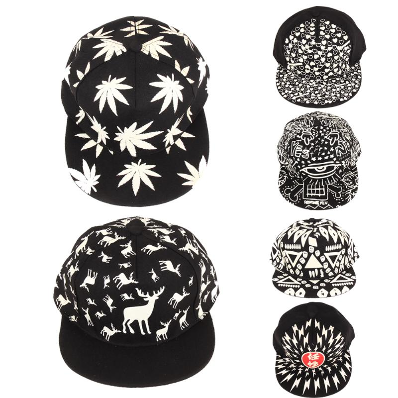 Men's Hats Amiable Https://www.aliexpress.com/item/fashion-luminous-baseball-caps-2016-personality-novelty-colorful-night-light-casual-hip-hop-unis Products Hot Sale