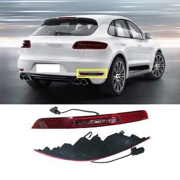 Porsche macan 2014-2017 lámpara antiniebla trasera + reflexión cubierta