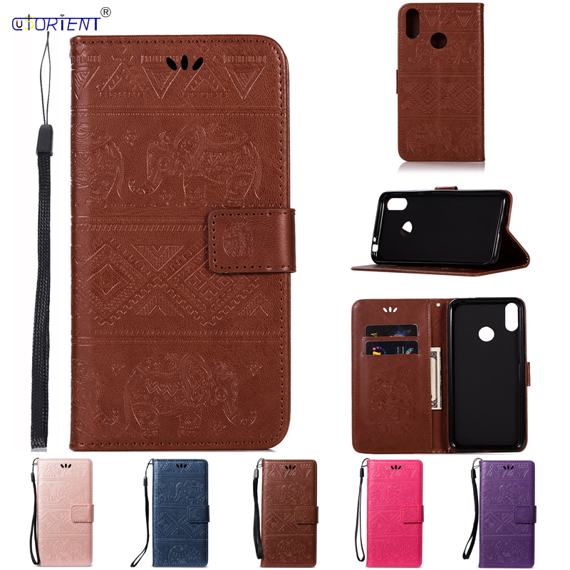 Huawei Honor 8C Case Cover for Huawei Honor 8C C8 Flip PU Leather Wallte Phone Bags