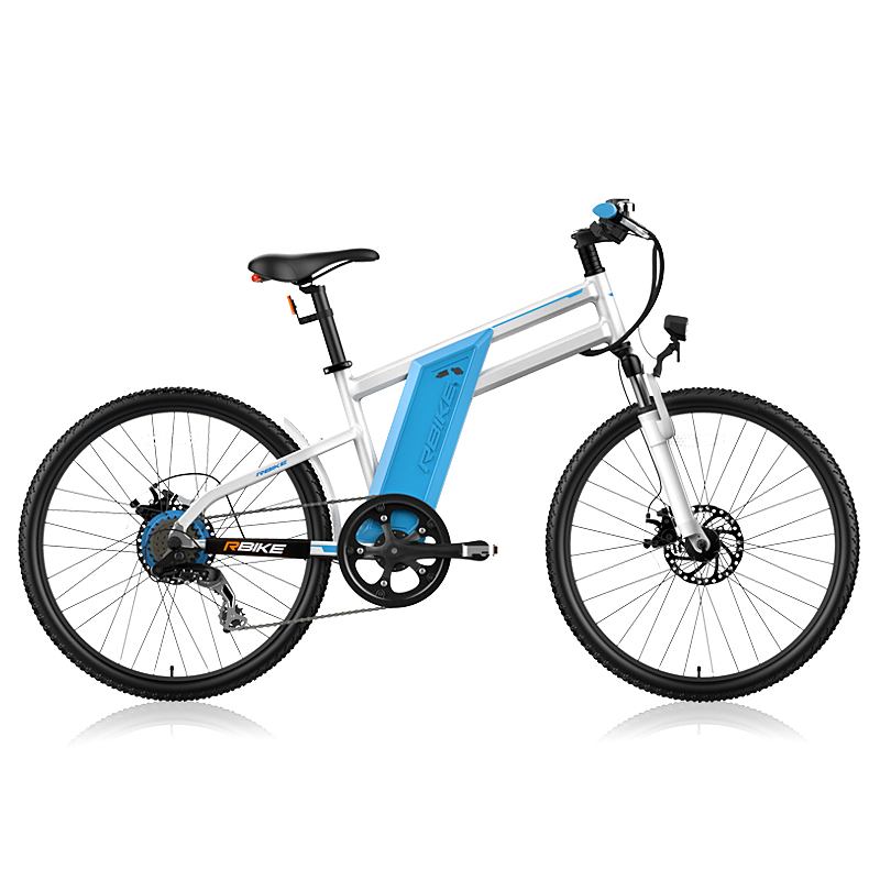 24inch electric bike hybrid ebike pas electric montain bicycle Multi function bike range 50 70km top speed 25km/h