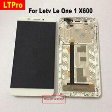 Haute Qualité X600 Écran lcd Écran Tactile Digitizer Assemblée avec cadre Pour Letv Le Une 1 Mobile Téléphone Remplacement De Réparation pièces