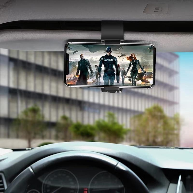 Car Holder Phone Holder Dashboard Phone Holder Universal mobile Adjustable Clip Stand Bracket For Smartphone GPS Bracket Clip