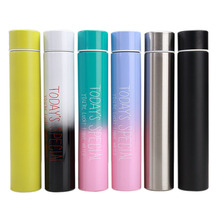 Beautiful Color Stainless Steel Thermal Cup 280ml Tea Mug Thermo Thermos Coffee Silm Design Bottles