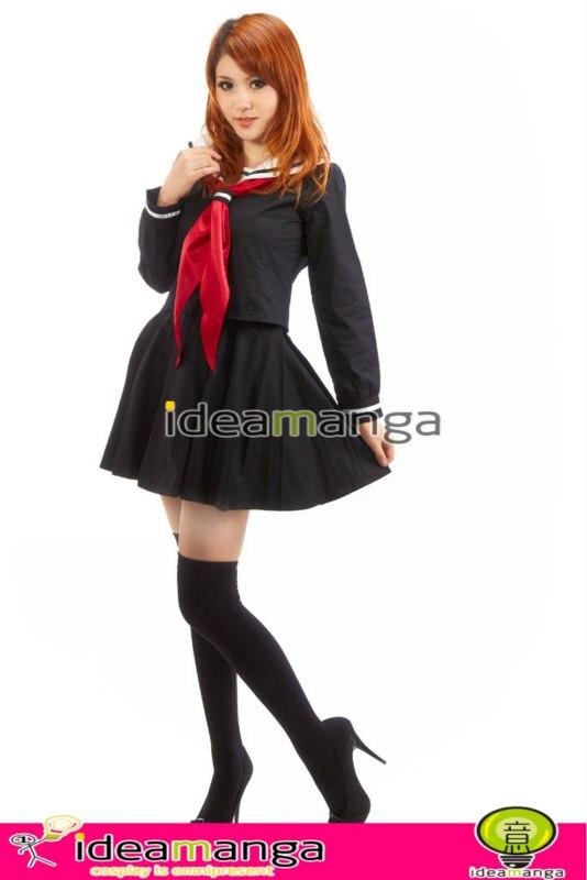 ideamangaanime cosplay hell girl enma ai black uniform cosplay costume school uniform female halloween christmas party in anime costumes from novelty