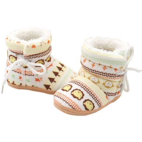 2018 Baby Shoes Toddler Shoes Girl Boy Winter Baby Boots Warm Fleece Children Kids Snowboots bebbe shoes Multan