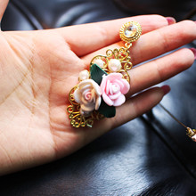 classical Promotion High Plate rose Flower Grape Stud Earrings Brincos Quality Plant Women Wholesale New Jewelry