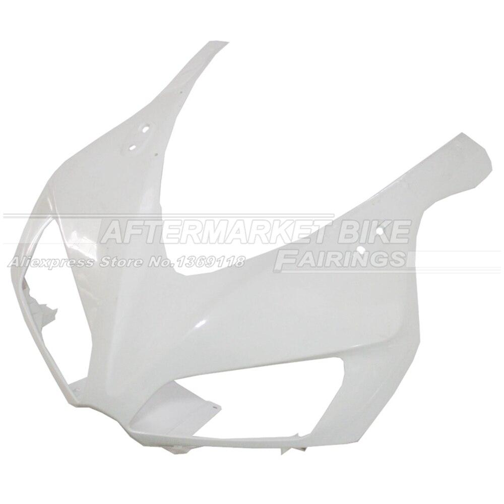 100% Virgin ABS Plastic Front Fairing Head For Honda CBR1000RR 2006 2007 CBR1000 RR 06 07 Upper Fairing Nose Cowling NEW new hot moto parts fairing kit for honda cbr1000rr 06 07 white blue injection mold fairings set cbr1000rr 2006 2007 ra14