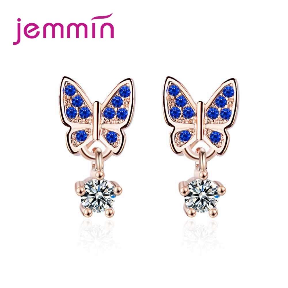 JEMMIN Unique Design Butterfly Earrings 925 Sterling Silver