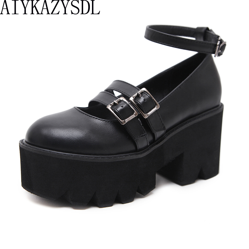 Fashion Femme Transparente Wedge clair pantoufle Plateforme Sandales Talon Haut Chaussures