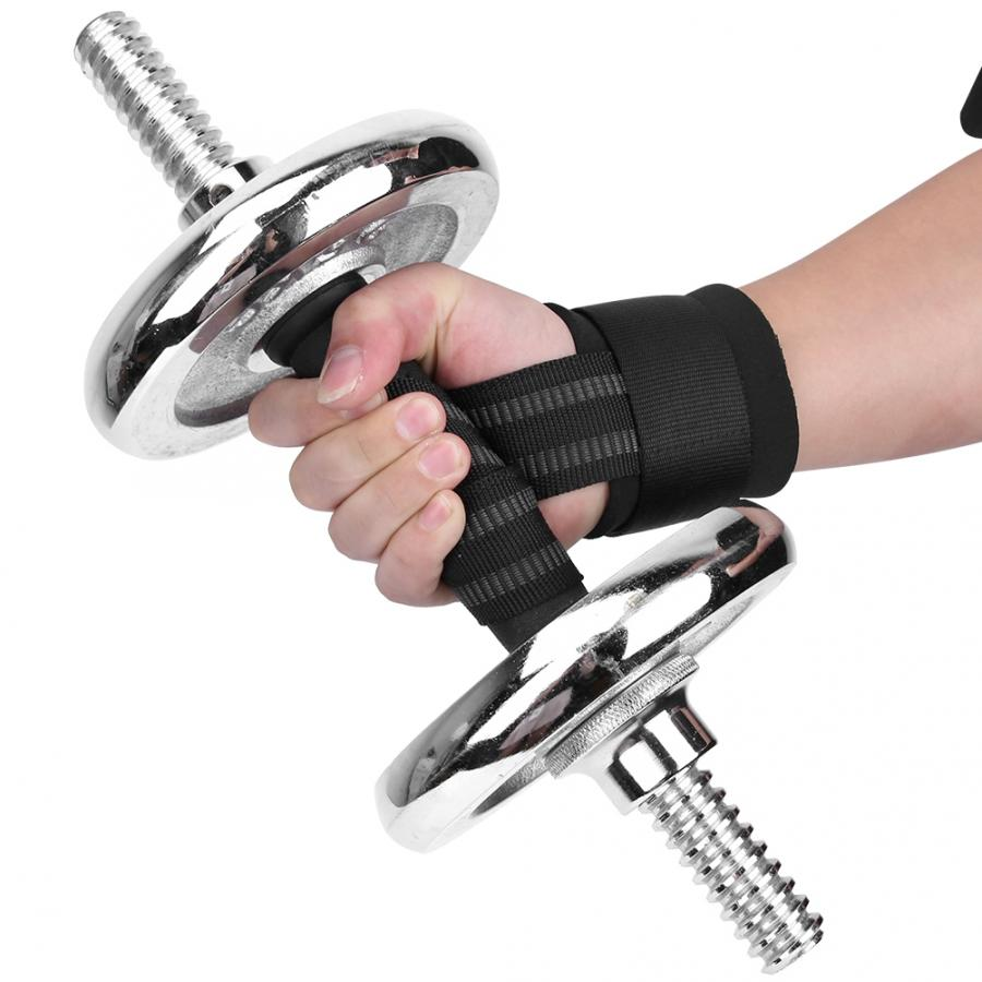 Weight Lifting Wrist Wrap Adjustable Bandage Sport Training Weight Lifting Bracer Strap Non-slip Wrist Wrap Power Training Rope
