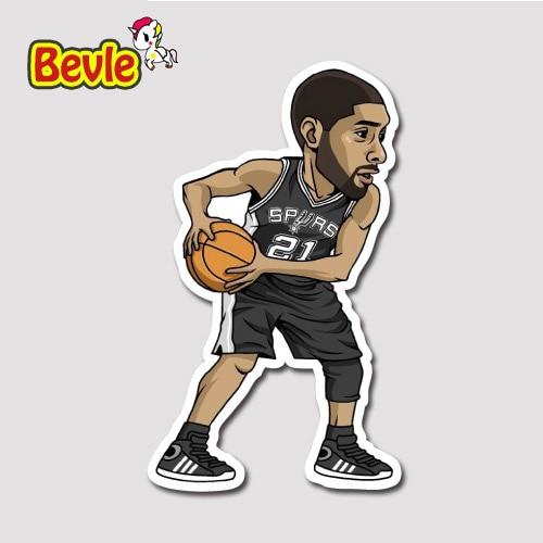 Bevle 9356 NBA bastetball Super Star Кармело Энтони Водонепроницаемый Наклейки ноутбука Чемодан мода автомобиль с рисунком граффити Стикеры