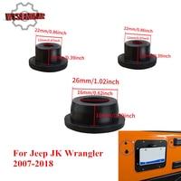 3 шт. багажника Прочная резиновая Вилки комплект бродяга штамп шины удалить съемный уютно Вилки для Jeep Wrangler 2007- 2018 CEK160