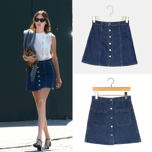 Girls Jean Skirt - Dress Ala
