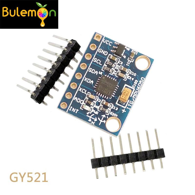 GY-521 MPU-6050 3 Axis Accelerometer Module Pi Arduino Gyro Module GY 521