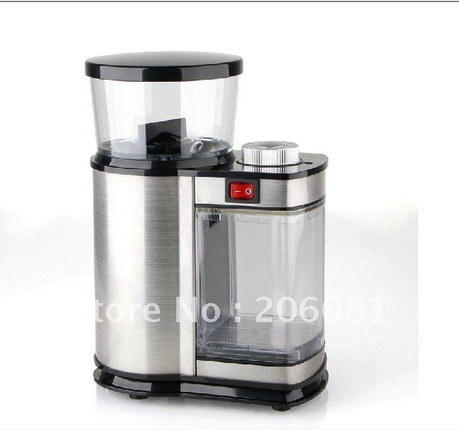 Luxury stainless steel electric coffee grinder cafe for Best luxury coffee maker