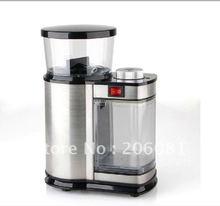 De lujo de acero Inoxidable molinillo de Café eléctrico/grinderCoffee molinillo molinillo de café, máquina de Molienda de molienda Ajustable espesor