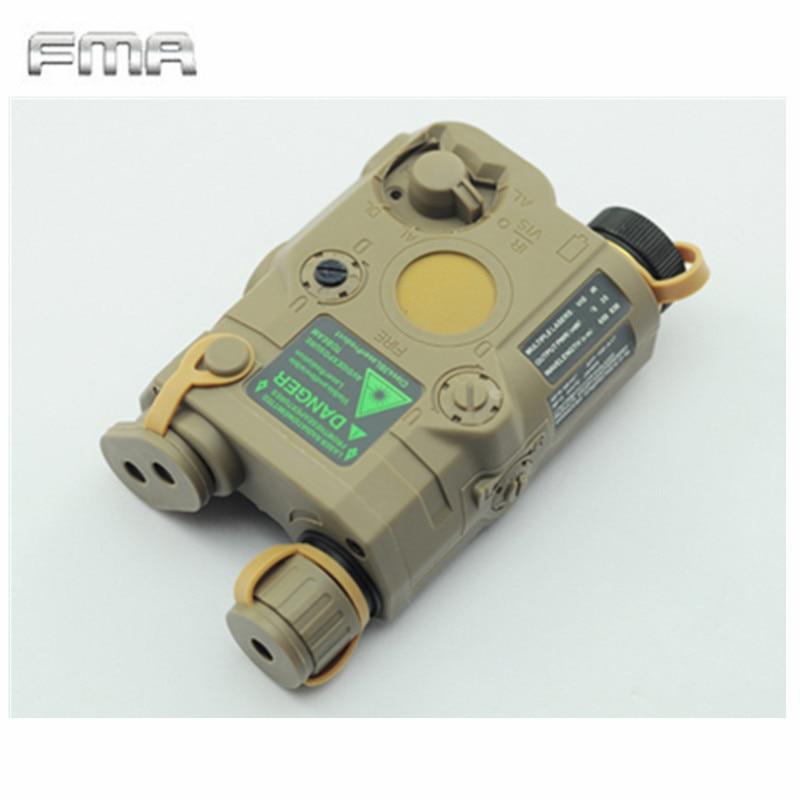 Original FMA Tactical Military Airsoft AN / PEQ-15 Batteri Box Laser - Jakt - Foto 5