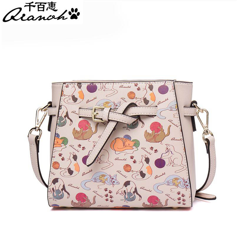 2016 korean tassels weave handbag fashion concise single shoulder package woman package Korean fashion shoulder Messenger bag 2017 new personality fashion package Fashion print ladies bag