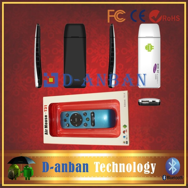 [Free T31 Air mouse]+E888 Quad Core Mini PC RK3188 Cortex A9 1.8GHZ Android TV Box 4.2 Bluetooth Stick Dongle 2GB RAM 8GB ROM