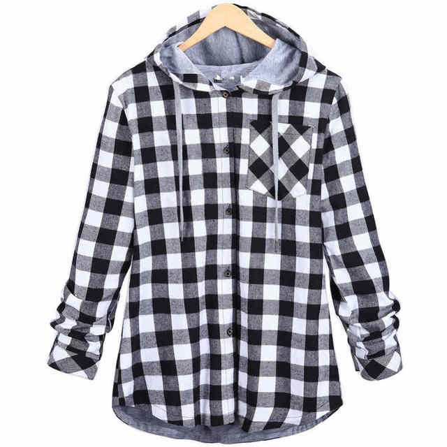 ADI HipHop Plaid Shirt