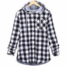 Plaid Hipster Men Hoodies