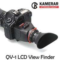 AUTHENTIC KAMERAR QV 1 LCD VIEWFINDER VIEW FINDER FOR CANON 5D MarK III II 6D 7D