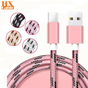 1m/2m/3m Long USB Type C Cable Fast Charger Charge for huawei p30 lite pro p20 lite p40 lite Nova 5t 5i 5 Wileyfox Swift 2 Plus