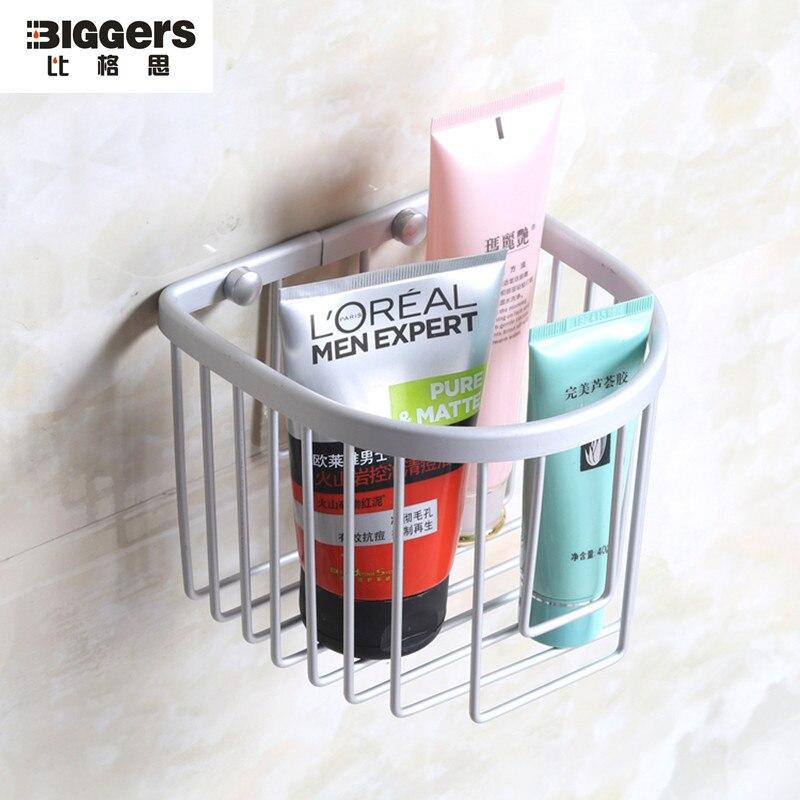Free Verschiffen Bad Accessoires Raum Aluminium Toilettenpapierhalter  Badezimmerkorb Regal Oxidation Tissue Basket(China (
