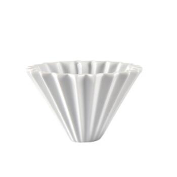 1 Stücke Maker Trichter Drip Keramik Origami StrainerBrewer 3 Farbe Flanell Kaffee Tropf Filter Kegel Gießen Über Portion