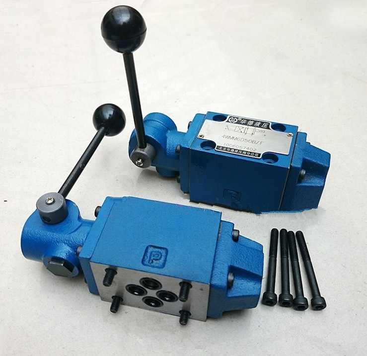 HUADE de handleiding directionele regelklep 4WMM10A10B hydraulische klep
