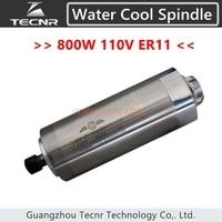 800 w eixo de refrigeração de água 110 v elétrica ER11 com 65mm de diâmetro 158mm de comprimento para router cnc|spindle 110v|water cooling spindle|110v spindle -